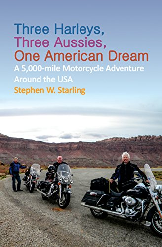 Three Harleys, Three Aussies, One American Dream