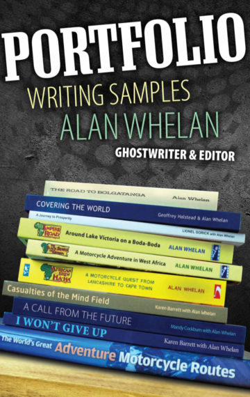 Alan Whelan - Portfolio Writing Samples